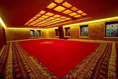 Woven Carpet Of The Prayer Room